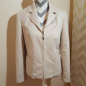 EVAN-PICONE zip up jacket blazer